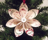 Baby's First Christmas Ornament- Personalized, handmade, custom, made to order, holiday decoration
