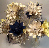 Daisy Wedding Package - handmade paper flowers, made to order, custom, daisy, bride, groom, bridesmaid, boutonniere, corsage
