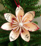 Baby's First Christmas Ornament 2015- Personalized, handmade, custom, made to order, holiday decoration