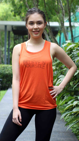 "ventri ""be you"" tank top_orange (zaw013)"