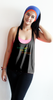 aurea born to dance bamboo crossback tanktop_black (zaw004)