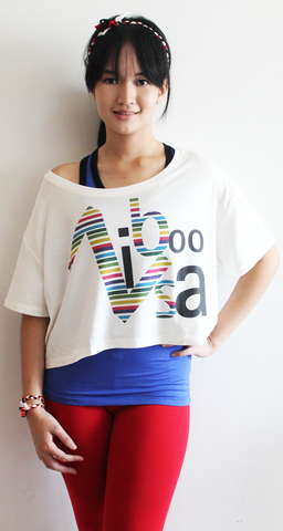 rifera rainbow bamboo crop top_natural (blw015)