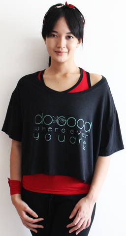 rifera do good bamboo crop top_black (blw015)