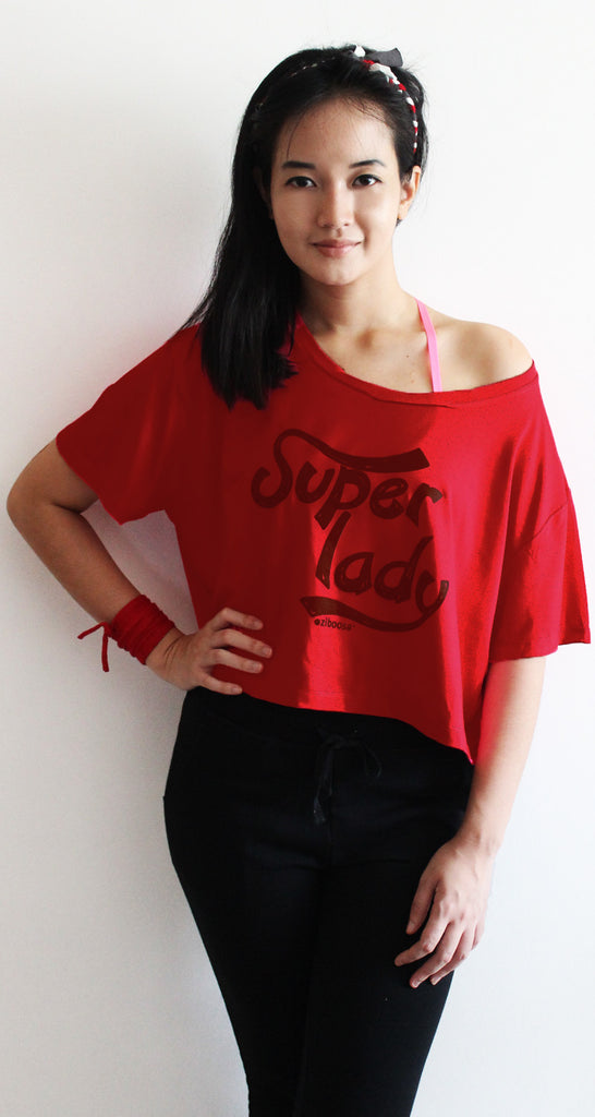 rifera super lady bamboo crop top_red (blw015)