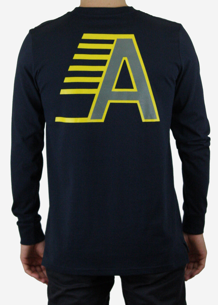 FAST A Long sleeve tee / Navy