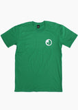 ROUND LOGO Tee / Kelly green