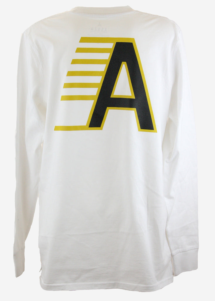 FAST A Long sleeve tee / White