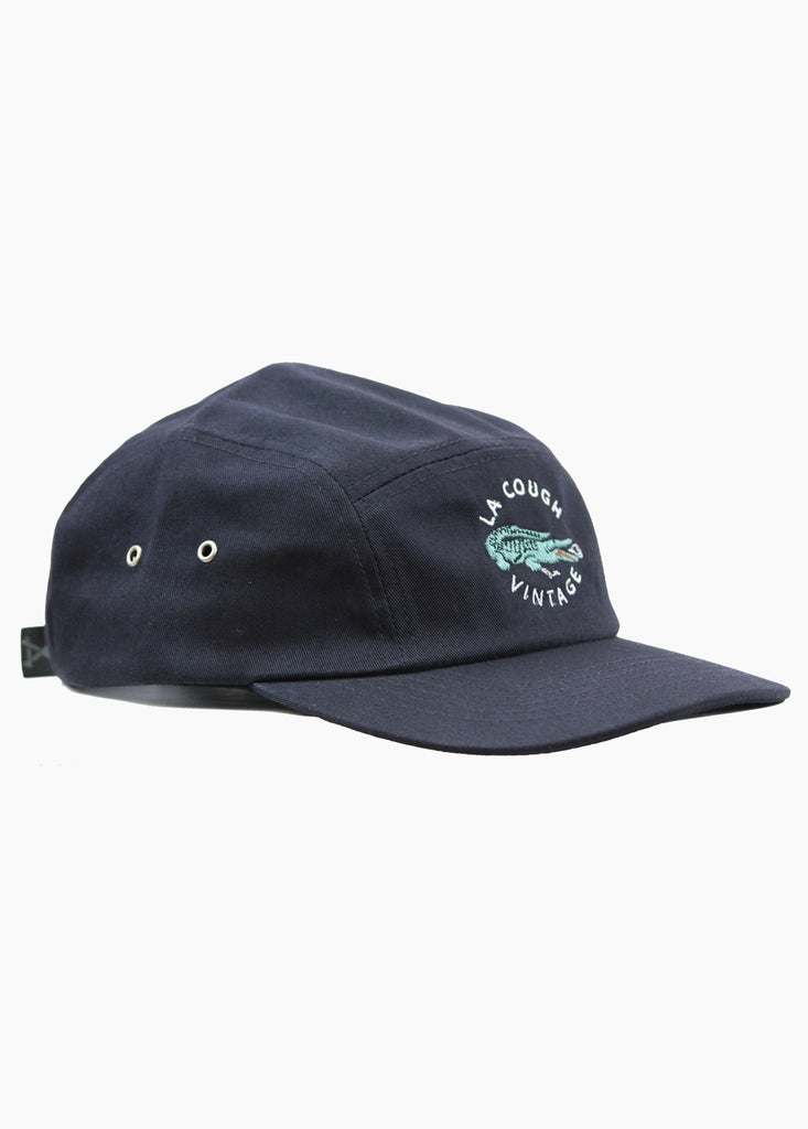 LA COUGH 5 PANEL CAP NAVY