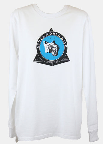 SURFS UP Long sleeve tee / Black