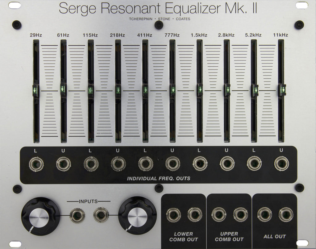 Serge Resonant Equalizer MKII