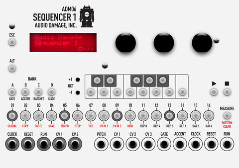 ADM06 Sequencer 1 [demo unit]