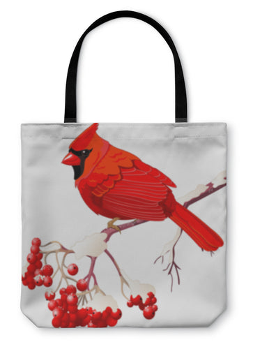 Tote Bag, Red Cardinal Bird - hopkins-barn