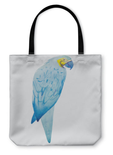 Tote Bag, Macaw Bird Watercolor Painting - Hopkins Barn