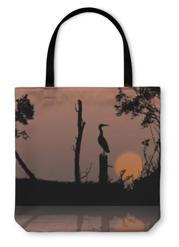 Tote Bag, Bird On A Branch Wildlife - Hopkins Barn