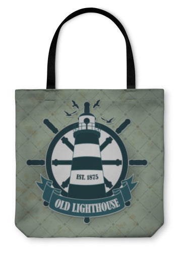 Tote Bag, Vintage Label With A Nautical Theme - hopkins-barn