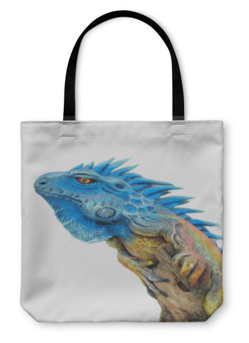 Tote Bag, Bearded Dragon Isolated On White - Hopkins Barn