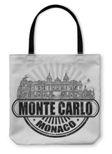 Load image into Gallery viewer, Tote Bag, Monte Carlo Stamp - Hopkins Barn