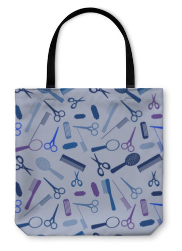 Tote Bag, Pattern With Sallon Elements - hopkins-barn