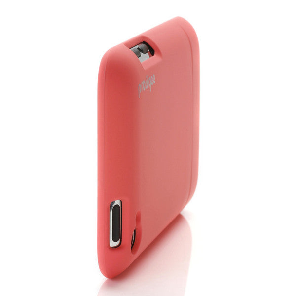 Sleek Slider Neon Peach iPod Touch 4 Case