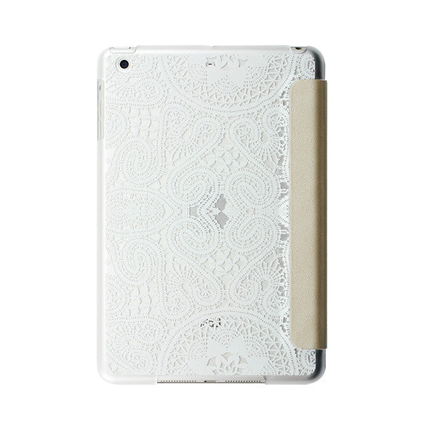 Show Lace White/Gold iPad mini
