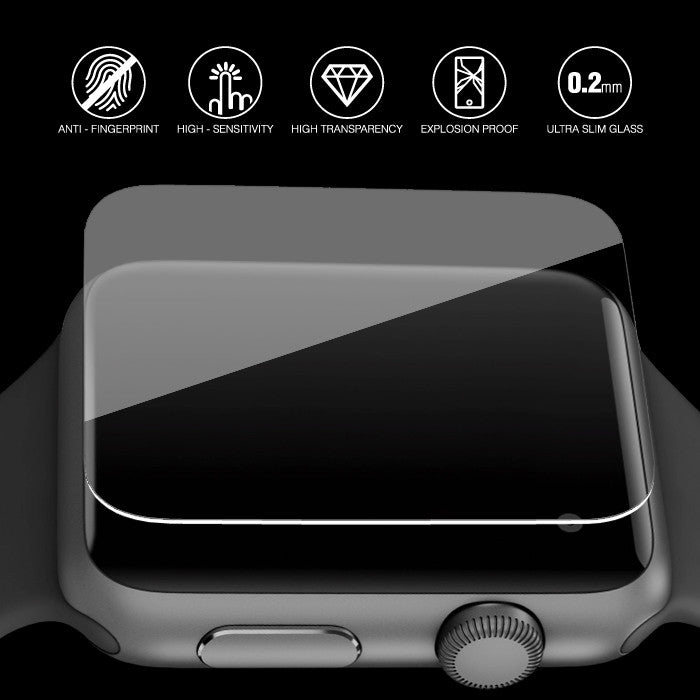 Super Glass Apple Watch 42mm Tempered Glass