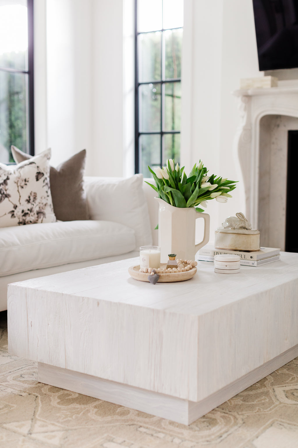 Dayna Coffee Table, Rectangular