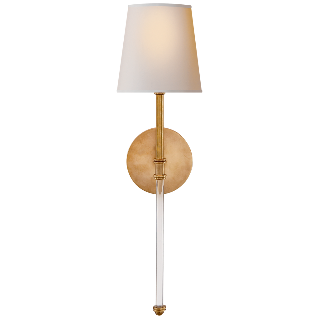 Camille Sconce with Natural Paper Shade