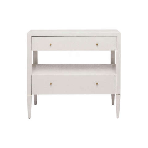 Yvonne Nightstand Single - Light Gray