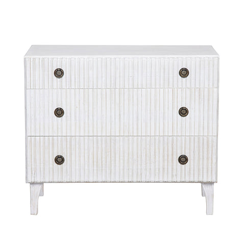 Yvonne Nightstand Single - White