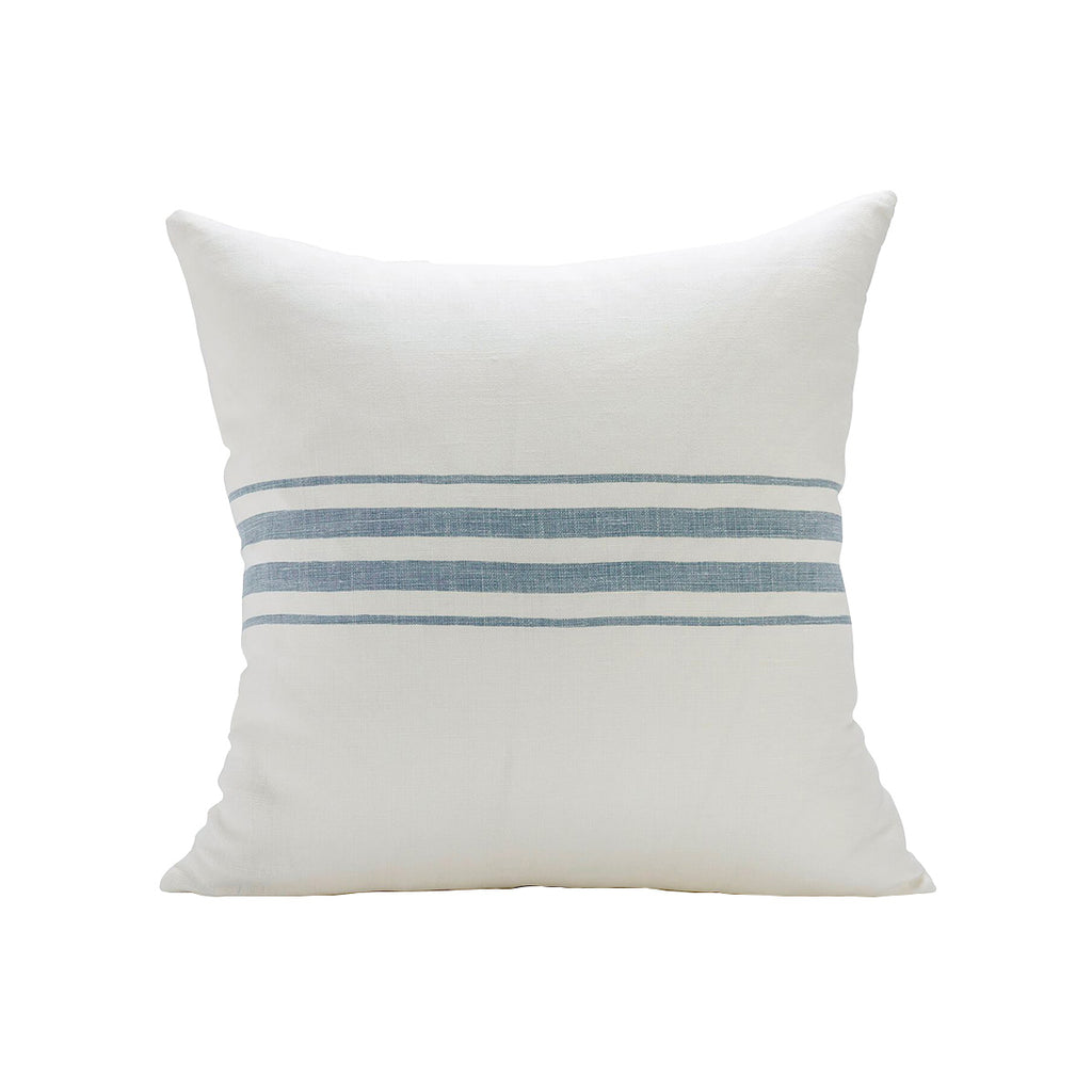 Frenchie Stripe Pillow Cover