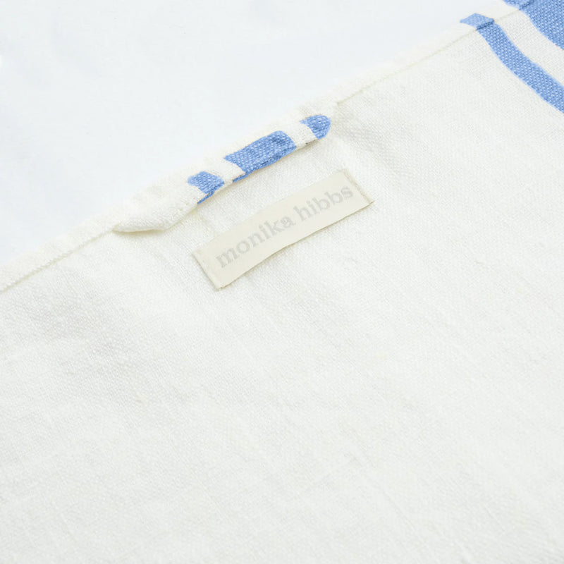 MH Tea Towel - Blue Country Stripe