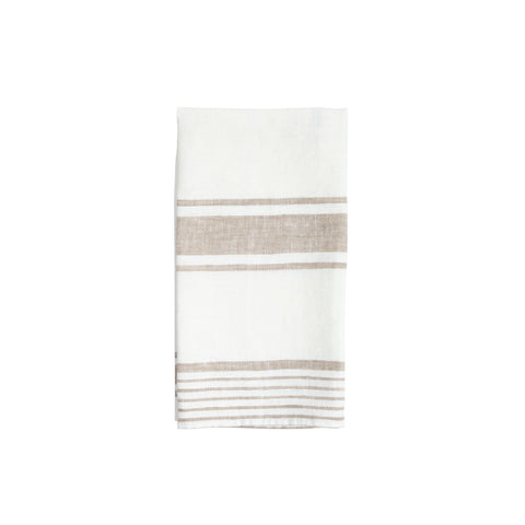 MH Modern Stripe Throw - Heron Blue