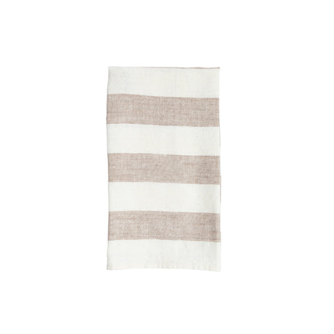 MH Tea Towel - Denim Coastal Stripe