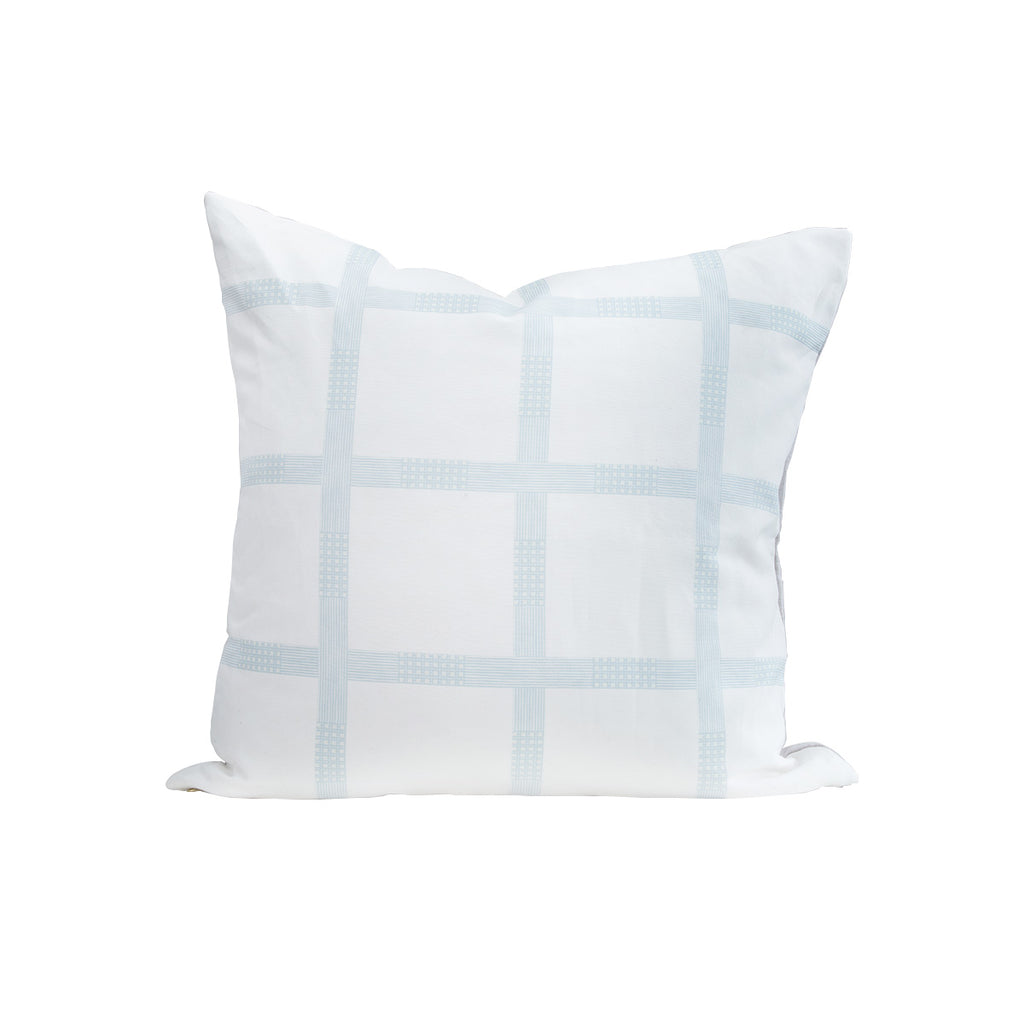 MH French Plaid Pillow Case