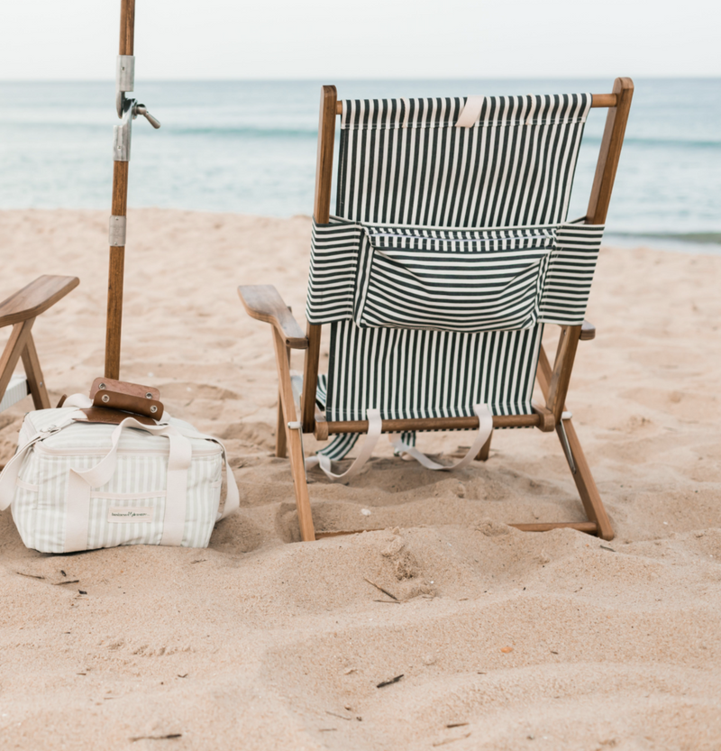 The Tommy Beach Chair - Navy Stripe