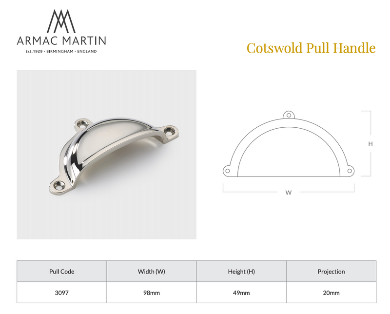 Cotswold Drawer Pull