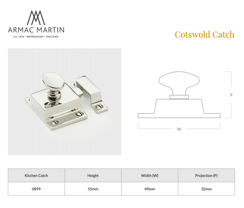 Cotswold Cupboard Catch