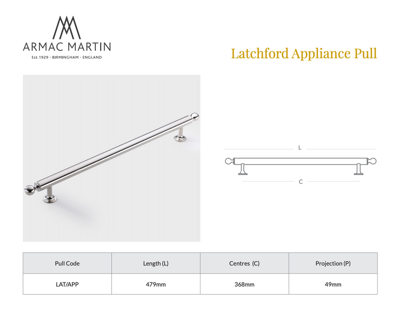 Latchford Appliance Pull