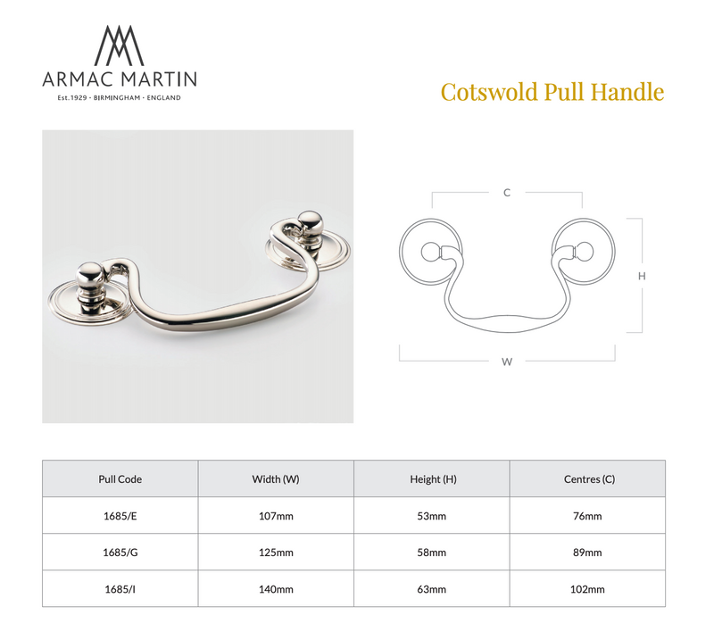 Cotswold Cabinet Pull