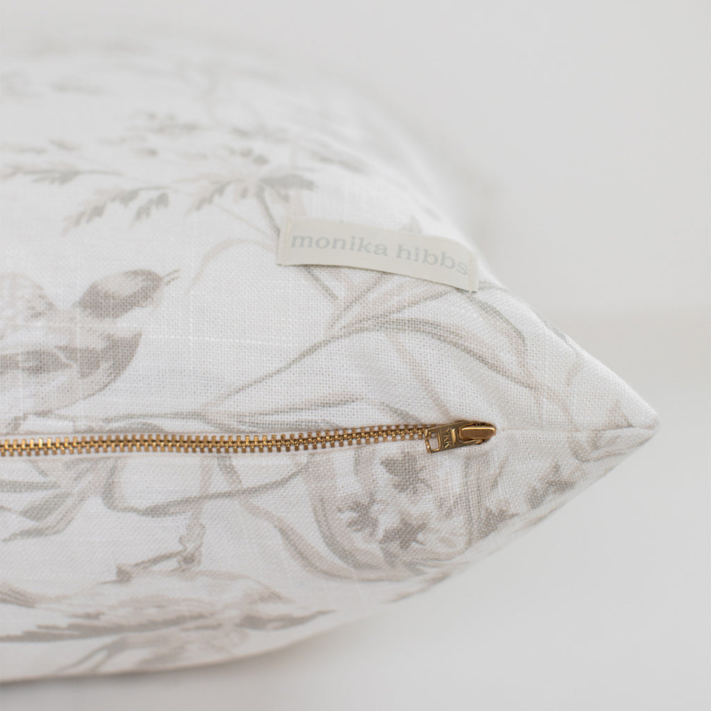 Sparrow Pillow Cover
