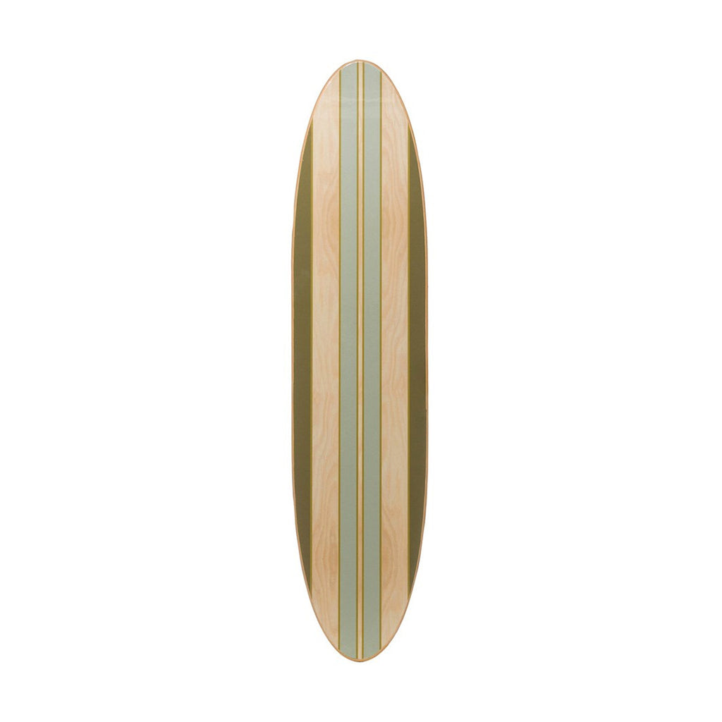 Striped Surfboard
