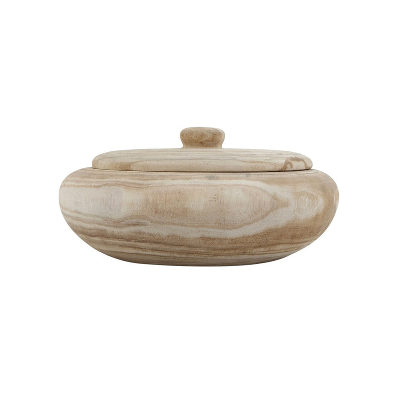 Decorative Paulownia Wood Container