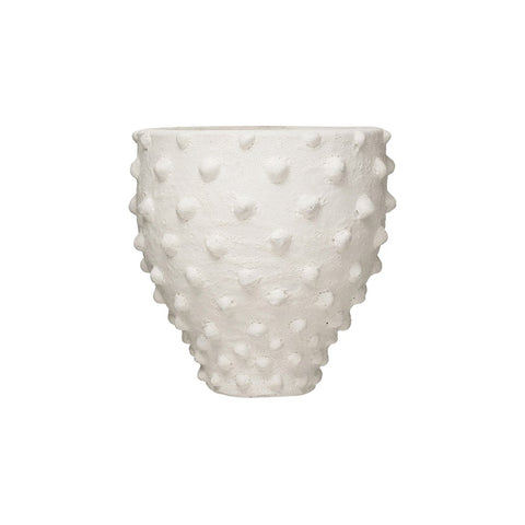 Ribbed Pinch Vase