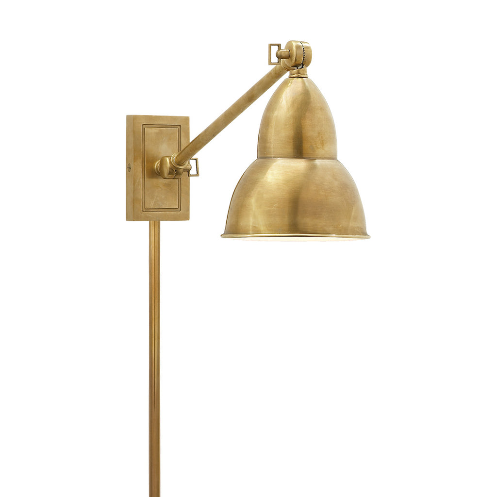 French Library Single Arm Wall Lamp