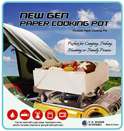 New Gen Portable Paper Cooking Pot