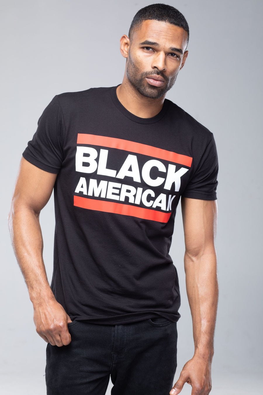 CLASSIC Black Short Sleeve T-Shirt