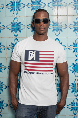 Black American Patriot T-Shirt