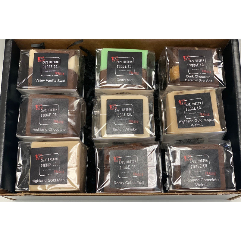 9-Piece Cape Breton Taster Fudge Gift-Pack