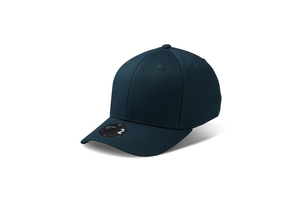 CROWN 2 - Adjustable Cap DK. Green