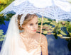 Bridal Headband Ivory Flower
